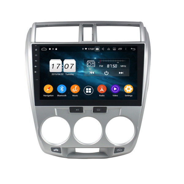 Klyde android car electronics for CITY 2006-2013