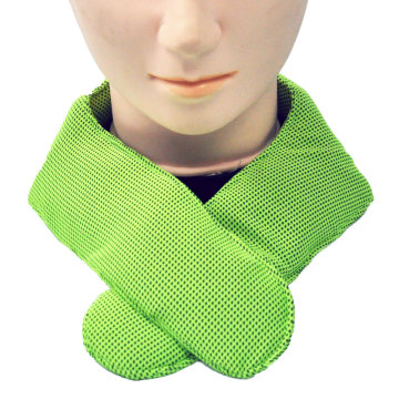 Cooling Fabric Ice Pack Reusable Cool Neck Wrap