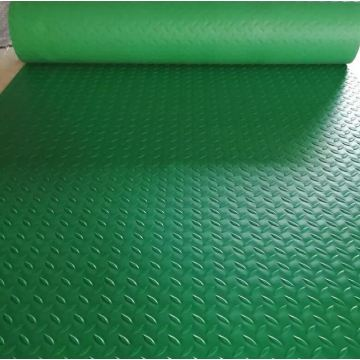 Factory pvc mat with coi design floor garage