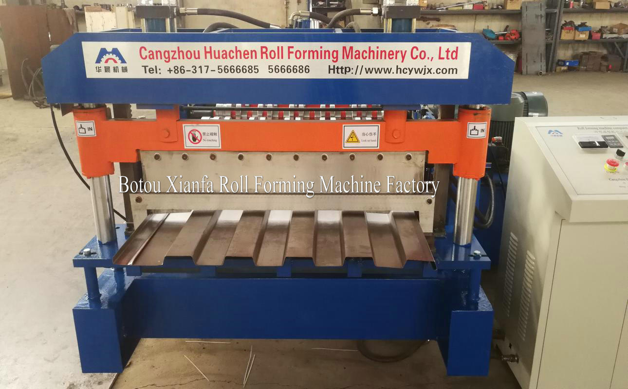 container panel forming machine