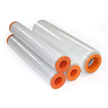 Clear Hand Plastic Packaged Roll Laminating Stretch Film