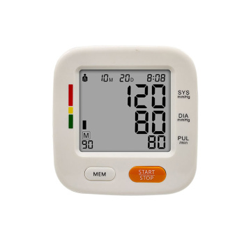Smart Backlight Arm Type Blood Pressure  Monitor
