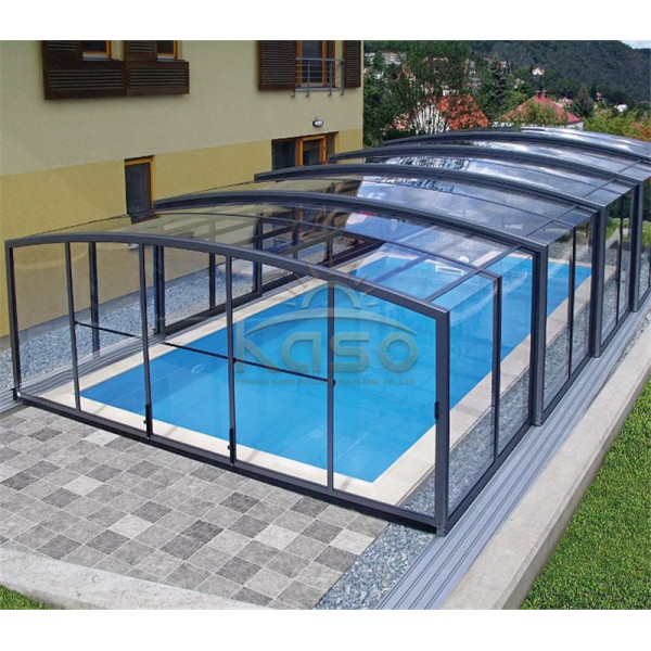 Enclosure Ground Dome Indoor Pool Retractable Roof