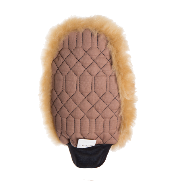 Fashion Brown Wash Mitt