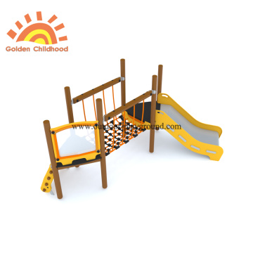 HPL Outdoor Yellow Playground Equipment For Toddler