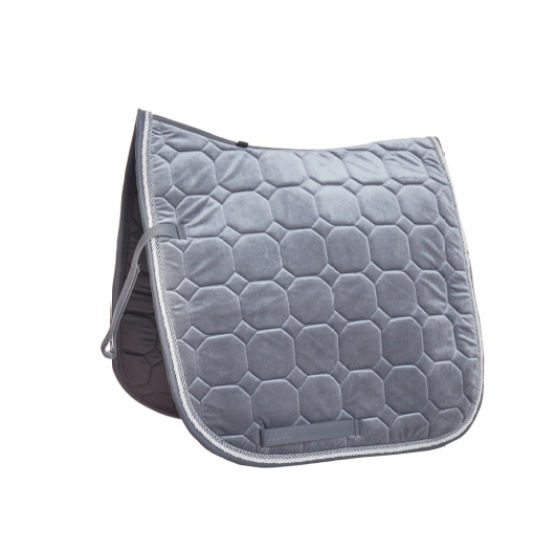 High Quality Quilted Velour Saddle Pad Blanket