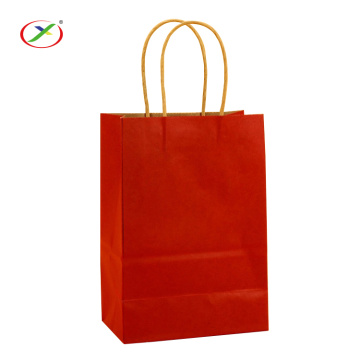 Shopping Kraft Paper Bag With Handle