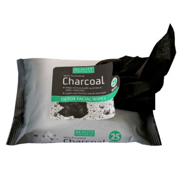 OEM Charcoal Facial Cleansing Makeup Remover Wipes