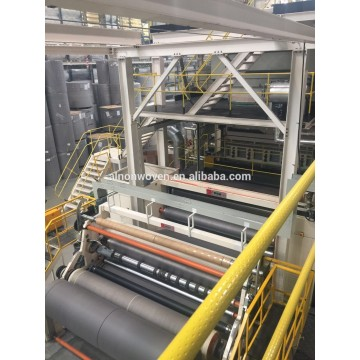 2017 the latest pp spunbond nonwoven fabric making machine