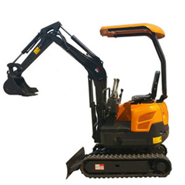 1.6T Small Digger Excavator With Rubber Track