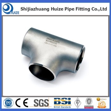 6 inch Carbon Steel welded stainless tee