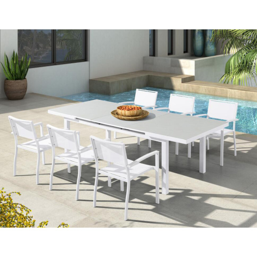 Outdoor And Indoor Table And Chair Dining Set
