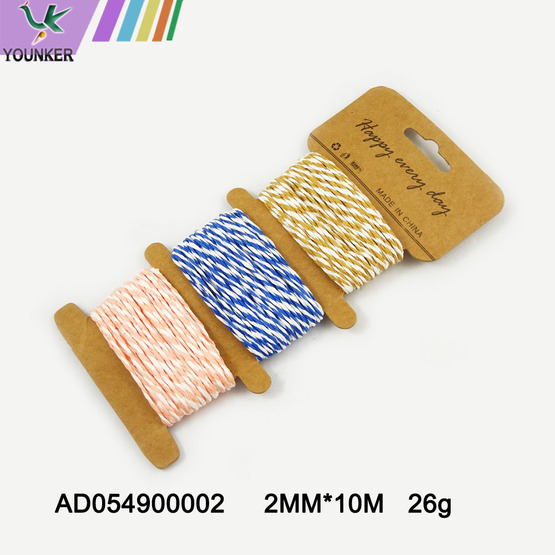 Colorful Craft Paper Rope For DIY decorative