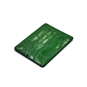Custom Logo Embossed New Design Credit Card Holder