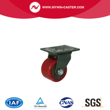 pu nylon caster wheels Low Center Of Gravity Casters