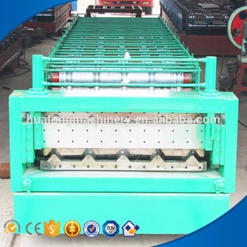 Automation highway guardrail steel plate roll forming machine