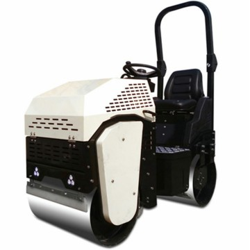 Honda engine double drum vibratory roller compactor