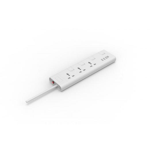Universal type 3 way extension sockets with USB