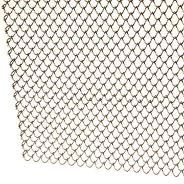 Stainless Steel Welded Ring Decorative Mesh