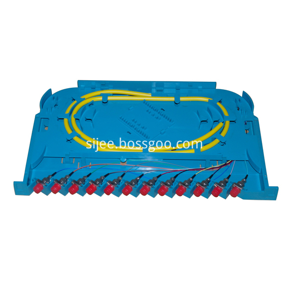 fiber optic splice tray