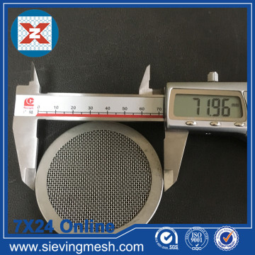 Galvanized Steel Filter Disc
