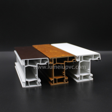 Plastic PVC Profile For uPVC Windows And Doors