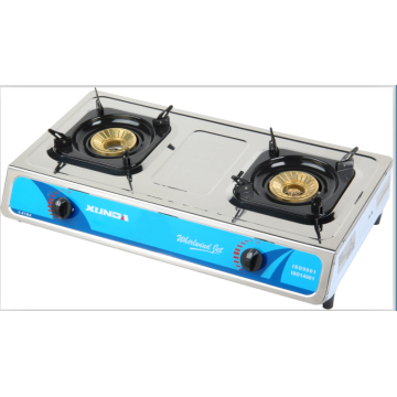 2 Burner Gas Stove Table Cooker with CE