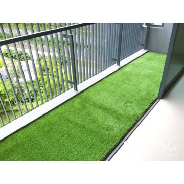 Balcony landscape synthetic artificial grass