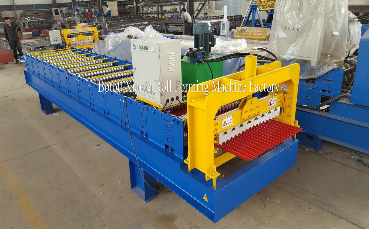Small Corrugated Forming Machine