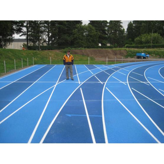 SGS IAAF Certificated Courts Sports Surface Flooring Athletic Running Track