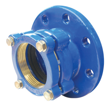 PE Flange Adaptor Straight Coupling