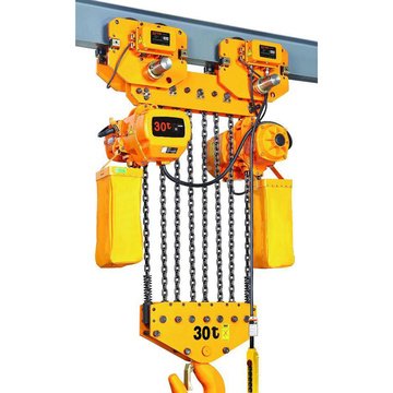 Electric lifting chain hoist 40 ton