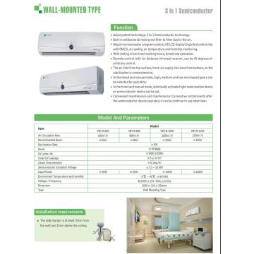 Air Cleaner Odor Eliminator Air Disinfection Coronavirus