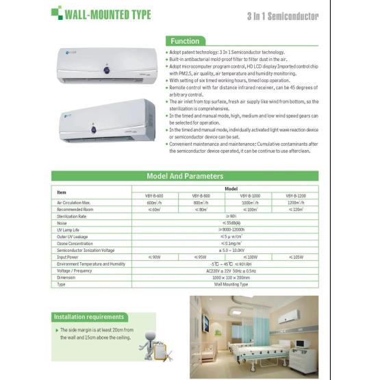 Uv Sterilizer Spa Air Sterilizer For Home Uv