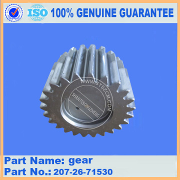 excavator spare parts gear 207-26-71530 for PC300-7
