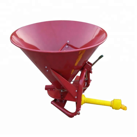 Tractor trailed fertilizer spreader lime spreader