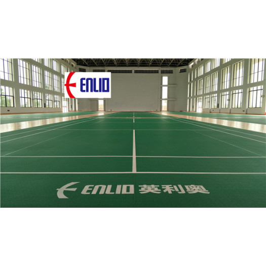 2018 Badminton Court Mat PVC Sports Flooring