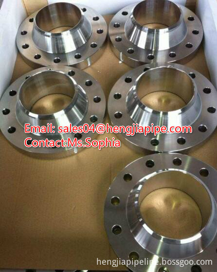 carbon steel weld neck flange