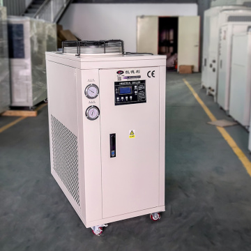 Low temp water cooled chiller lab