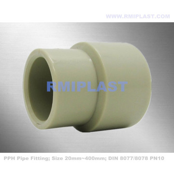 PPH Pipe Fitting Reducer DIN PN10