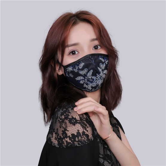 New Design Embroidered Mask Protective Face Mask