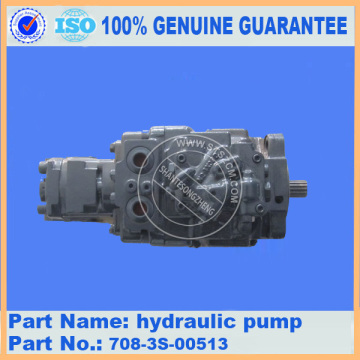 Komatsu spare parts PC35MR-2 hydraulic pump 708-3S-00513 for engine parts