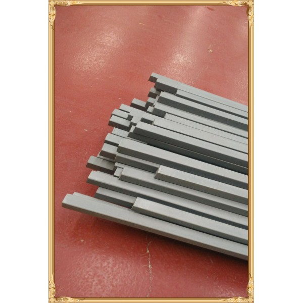 Gr2 Titanium square bars/jig sections 25.4x12.7mm