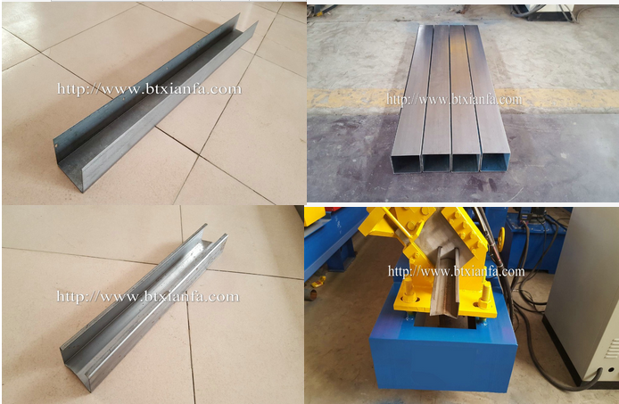 metal stud & track roll forming machine