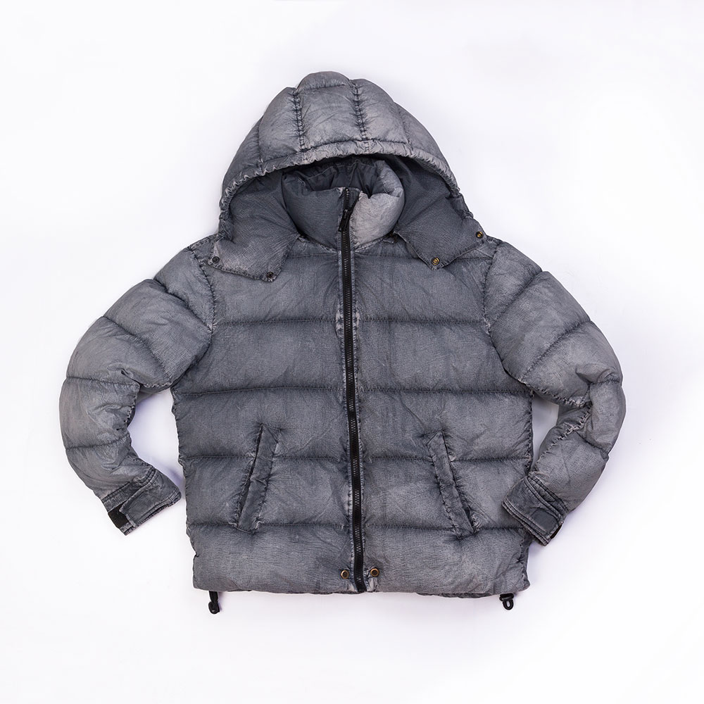 Garment Dyed Micro Yarn Down Jacket