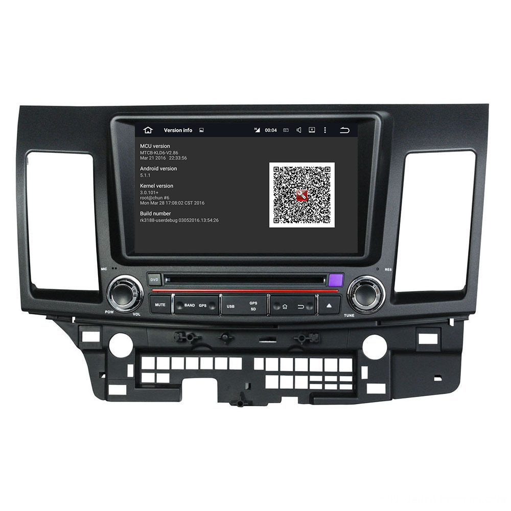 Android system car DVD for Lancer 2006-2012