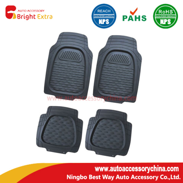 New Deep Dish Universal Rubber Floor Mats