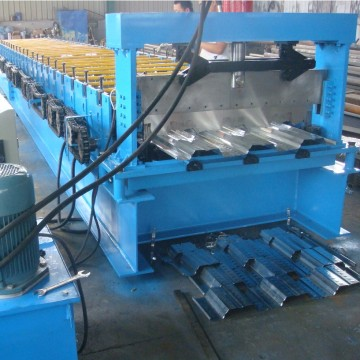 Steel deck panels floor roll forming machine