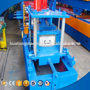Latest 400mm width metal purlin making machine