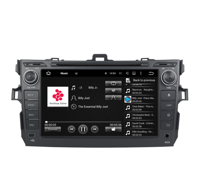 Car Audio Gps For TOYOTA COROLLA